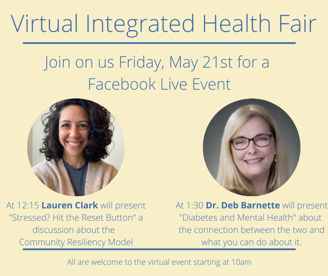 Virtual integrated health fair will be presented on Friday, May 21.