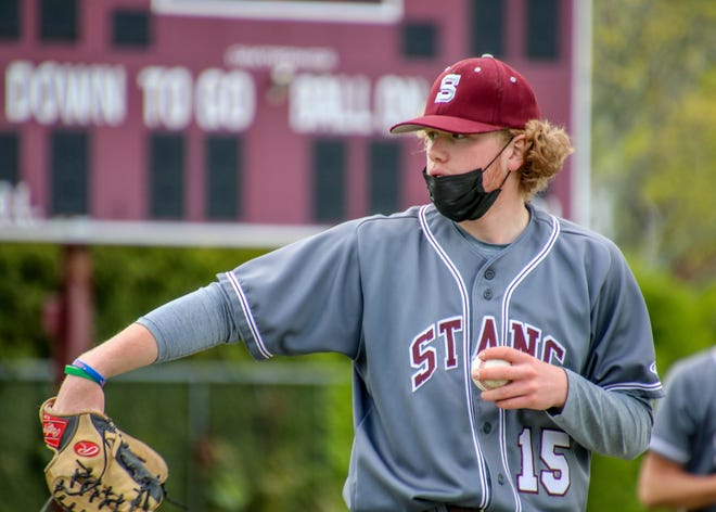 Seamus Marshall, a junior southpaw, went 6-1 with 0.84 ERA, striking out 61 and walking only nine for a 0.936 WHIP.