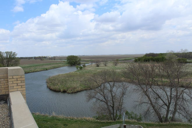 The Water Treatment Plant in Aberdeen draws water from the Elm River and city wells throughout the year.