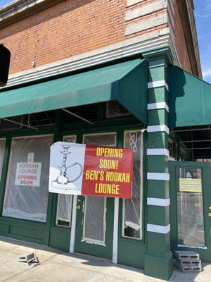 Ben's Hookah Lounge should open within the next couple months.