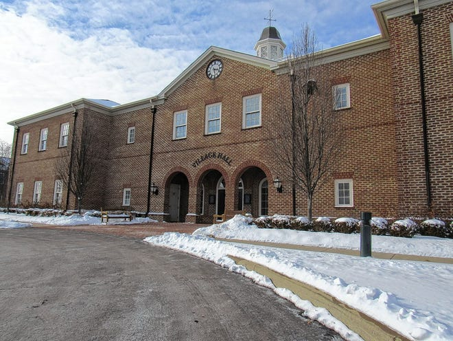 New Albany City Hall is at 99 W. Main St.