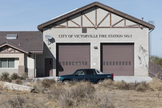 Victorville Fire Department Station 315 on Eucalyptus Street in an undated photo.