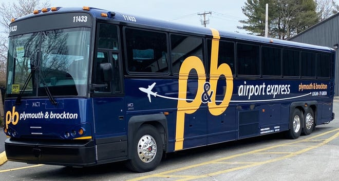 Sleek new P&B buses are ready to take riders to Logan Airport, Green Airport and beyond.