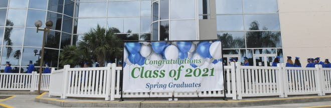 Scenes from the 2021 Eastern Florida State College Spring Commencement.