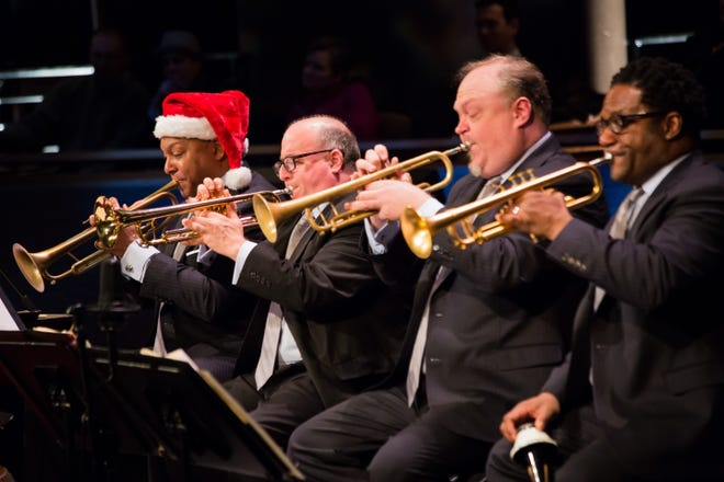 Wynton Marsalis and the Jazz at Lincoln Center Orchestra will perform a holiday show Nov. 28.