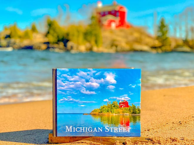 "The ""Michigan Street"" book by Glenn Stevens Jr."
