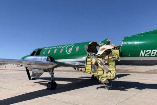 Two planes collide midair above Denver, no one injured 2