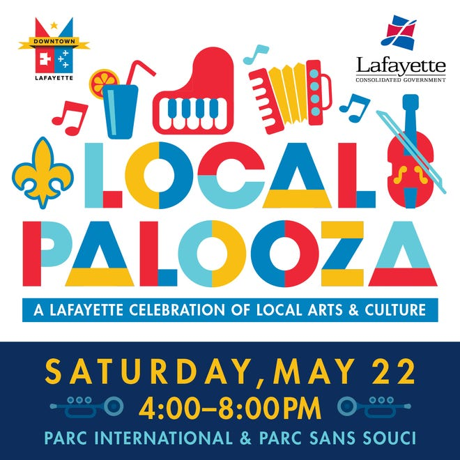 The inaugural Local Palooza, a one-day celebration in Parc International and Parc Sans Souci, is set forMay 22 from 4 p.m.to 8 p.m.