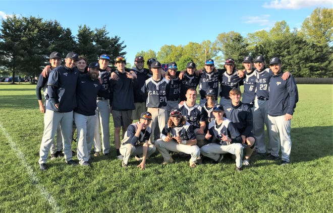 The Lancaster baseball team clinched the outright Ohio Capital Conference-Buckeye Division championship with a 6-3 road win over Pickerington Central. It is the Golden Gales' third consecutive OCC title.