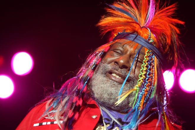 George Clinton performs with P Funk at the Beale Street Music Festival May 2, 2009. The funk icon turns 80 years old July 22..