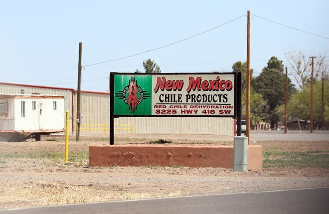 New Mexico Chile Products Inc. located at 3225 Highway 418 SW in Deming, NM.