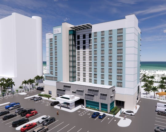 Renderings show the new Pensacola Beach hotel that will replace the Best Western damaged by Hurricane Sally in September.