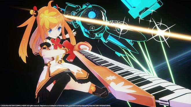 Neptunia Virtual Stars for PS4 and Steam.