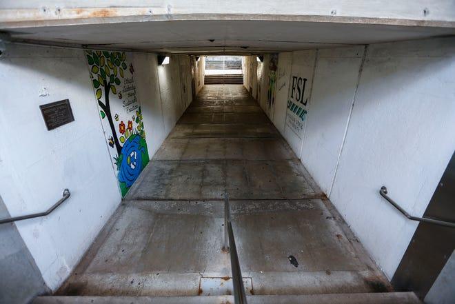 Missouri State University will add an elevator and ramp to the pedestrian underpass beneath Grand Street.