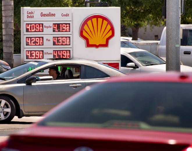 Gas prices are on the rise in Visalia.