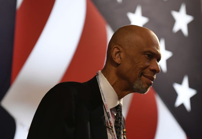 Basketball legend Kareem Abdul-Jabbar, who led Milwaukee to its only NBA championship in 1971, said he doesn't think the Bucks, as currently constructed, can win the NBA title. The Bucks trail the Brooklyn Nets, 3-2, in their best-of-seven Eastern Conference semifinals series.