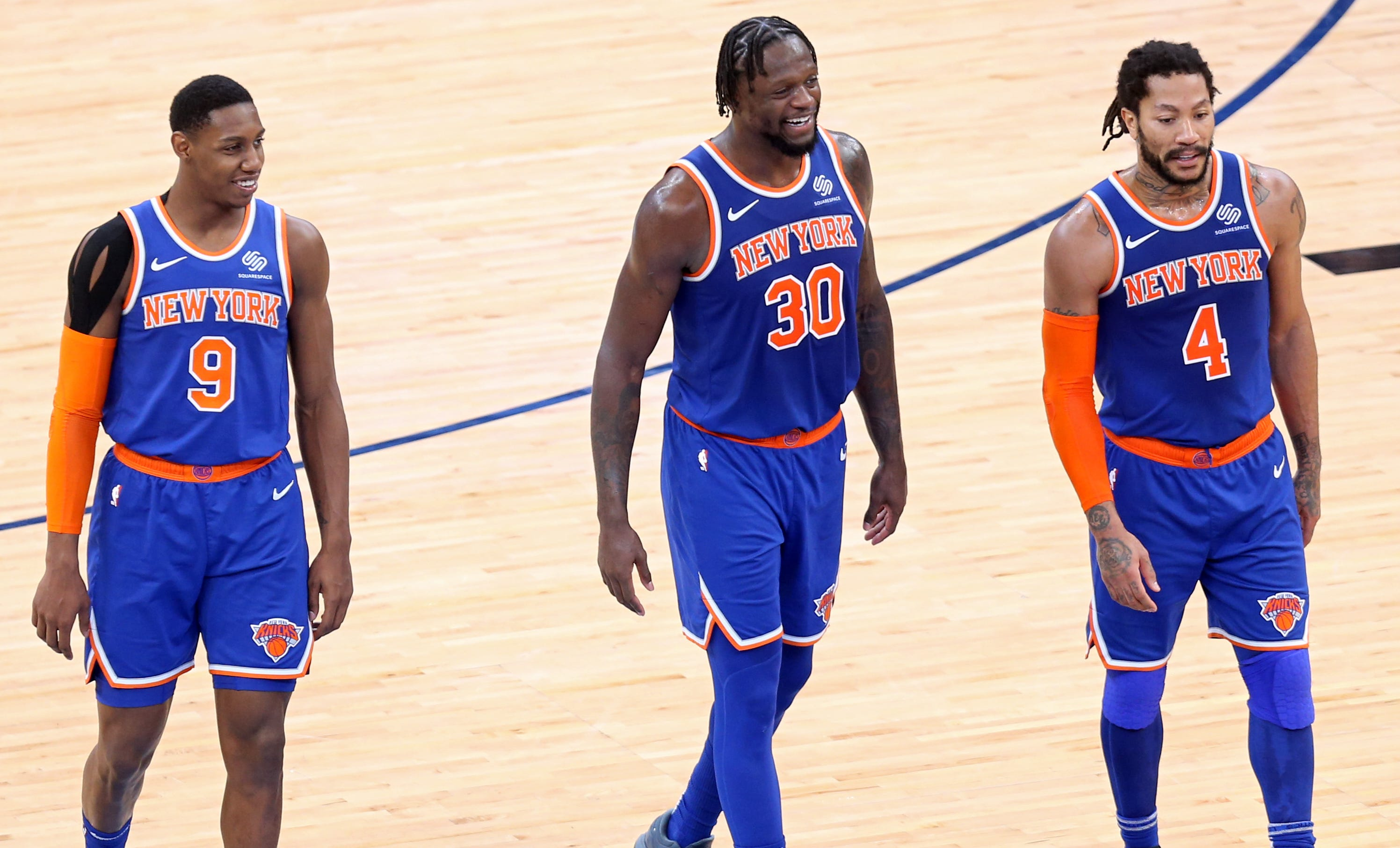 Knicks clinch playoff spot for first time since 2012-13 season