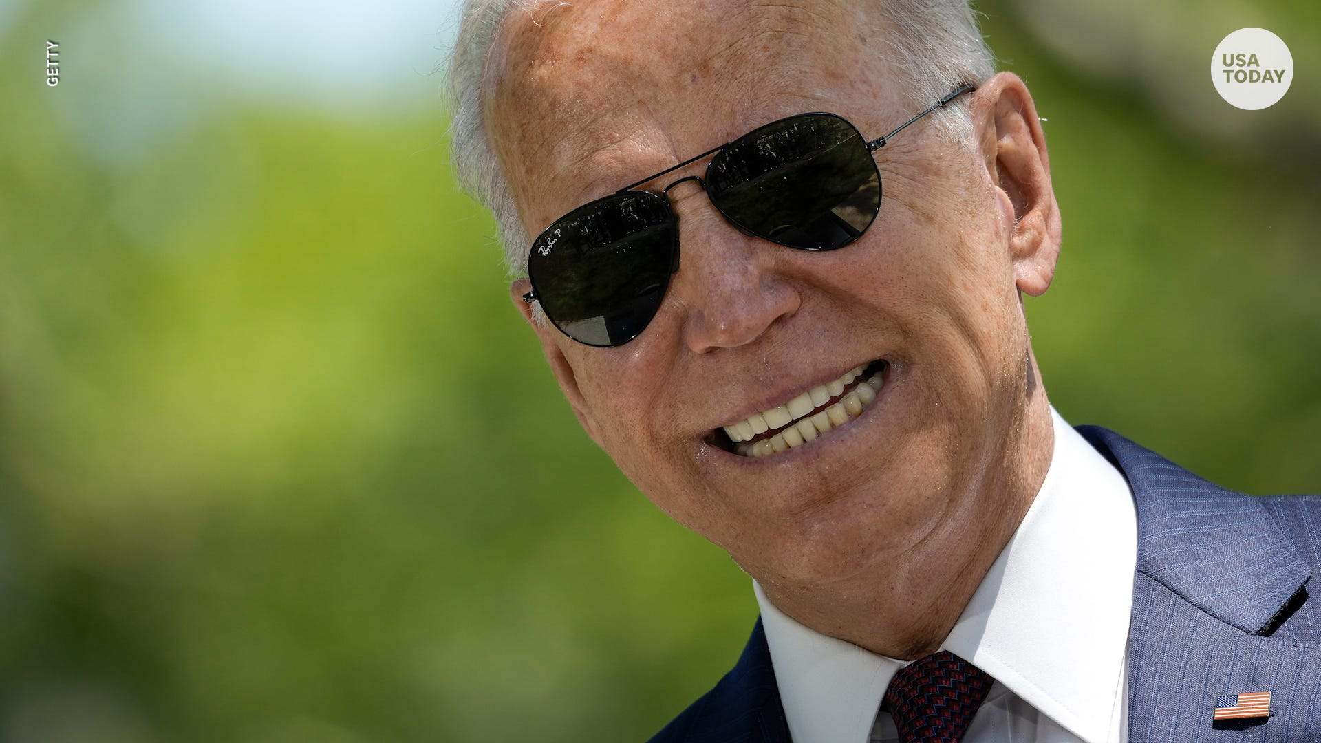 From Biden's aviators to Lincoln's hat, a look back at past presidents' iconic styles