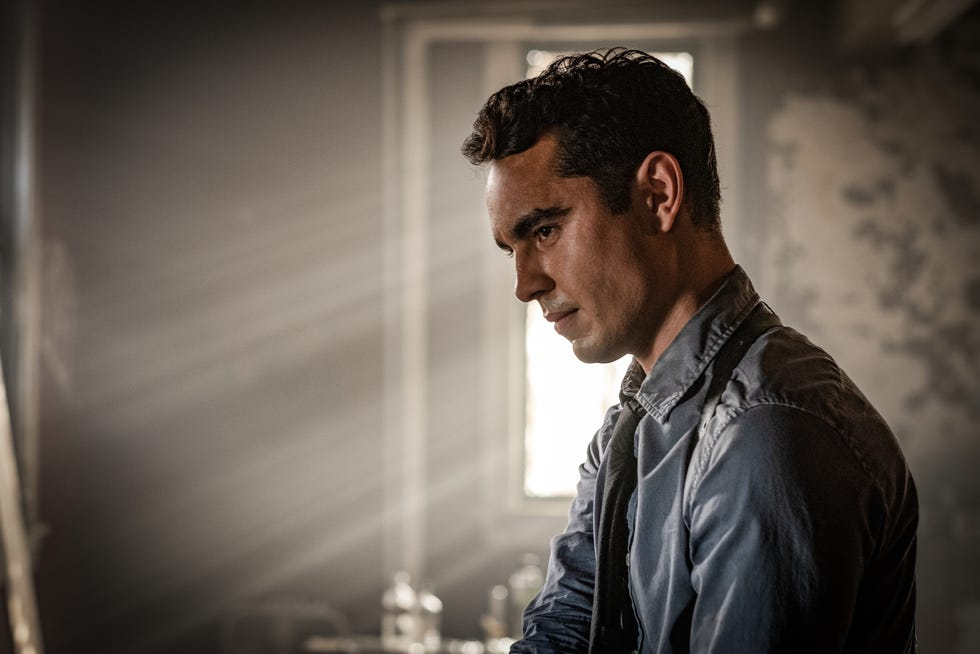 """Max Minghella is introduced as the latest master of dastardly traps in """"Spiral: From the Book of Saw."""""""