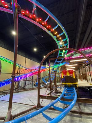 Austin's, the entertainment complex in Pflugerville formerly known as Austin's Park 'n' Pizza, has expanded and now features an indoor roller coaster as well as a new upscale area, REVL Social Club.