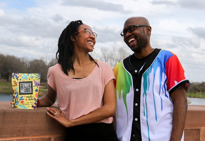 Delisa Johnson and Zach Harper started Funky Mello marshmallows in June 2020 and were recently accepted into the SKU M/O Track accelerator program.