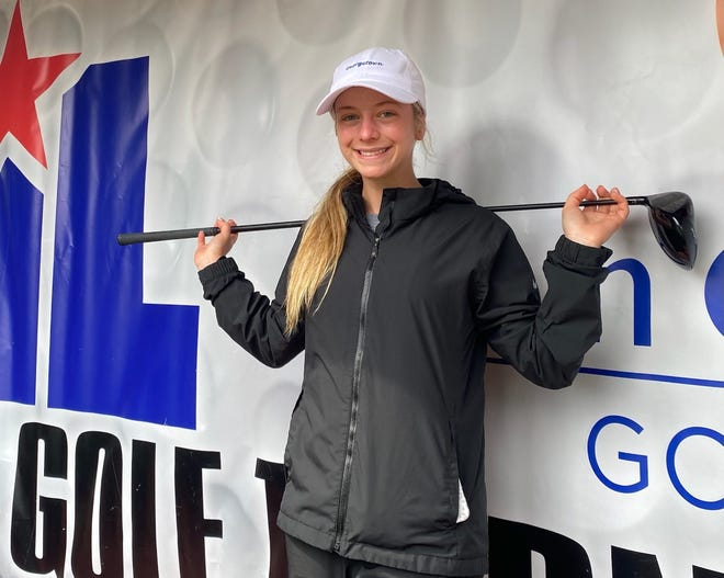 Georgetown senior Mattingly Palmer finished eighth at the UIL state golf tournament last week. Next year she will compete for Baylor.