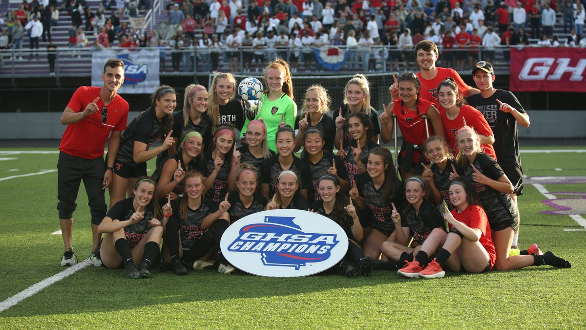 North Oconee's girls soccer wins program's first state title