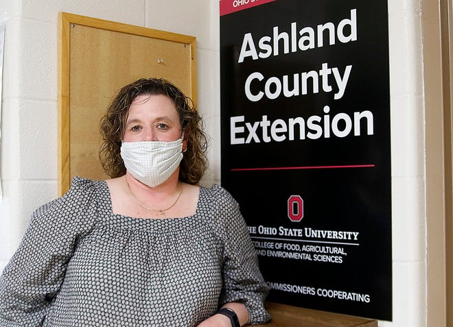Jackie Wasilewski is the new Ashland County Extension employee, replacing Kathy Blackford who retired.