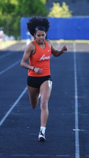 Olivia Jones and the Ames girls' track team have the potential to win a lot of medals and contend for some championships in Class 4A at the state co-ed track meet this weekend. The Little Cyclone girls rank in the top five in seven events heading into state.