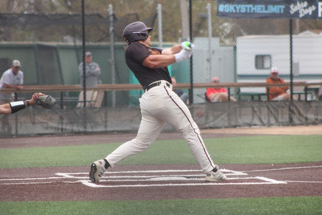 Brock Reller and the Minnesota Crookston baseball team defeated Minot State, 7-6, Friday afternoon to punch their ticket to the next round of the NSIC Tournament in Sioux Falls, S.D.