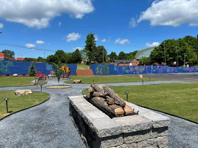 An approximately $850,000 renovation and addition project at Bull City Ciderworks is complete and includes outside seating with firepits on the grassy lawn and a new mural spanning the area by Jeff Beck of Lexington. Bull City threw itself a party this past weekend to celebrate the end of the project.