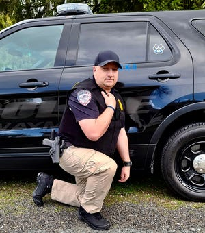 Aaron Bertholf has been a policeman for more than a decade now. He's 40-years-old and currently serving the municipalities of Waymart and Hawley.