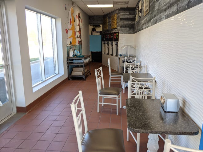 Yeti'z Frozen Yogurt is open for business in Holland Township. The shop shares a location with Firehouse Subs.