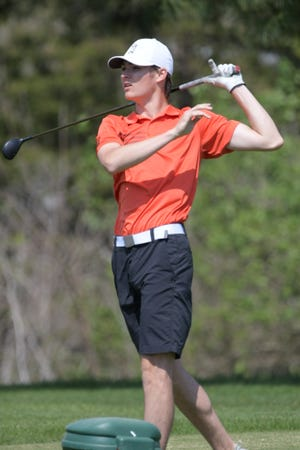Daily Express file photo of Kirksville's Dylan Kinney.