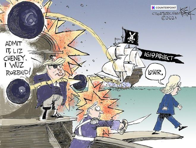 Today's editorial cartoon (May 15, 2021)