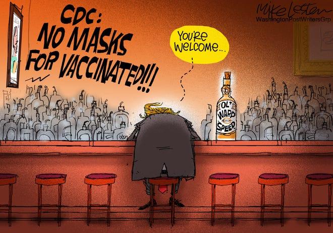 Today's editorial cartoon (May 17, 2021)