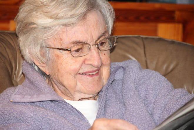 Jennie L. Kern, who celebrates 100 on May 17, lives in Penfield. Daughter Joann K. Long lives in Bloomfield.