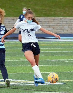 Brynne Giallombardo and the Blue Devils jumped to the top of the Big North with another win within the league.