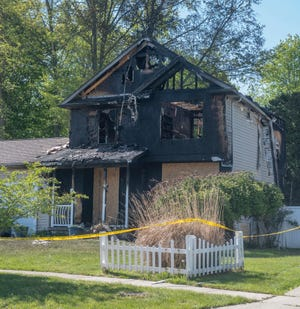 Portage County Fire Inspection Unit was on scene Friday at 424 Harvest Drive where a fire occurred the night before. Another fire took place early Saturday morning at the corner of Lawrence Street and East Main Street, which fire officials said was another serious blaze.