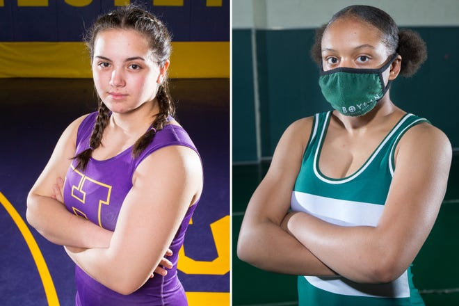 Hononegah's Rose Cassioppi and Boylan's Netavia Wickson are the younger siblings of standout NIC-10 wrestlers looking to make their own names in the conference.
