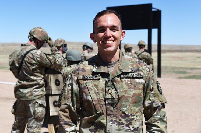 U.S. Army reservist Maj. David Rossheim, a native of Venice, Florida, commands the 6th Space Company. Rossheim grew up in Venice.