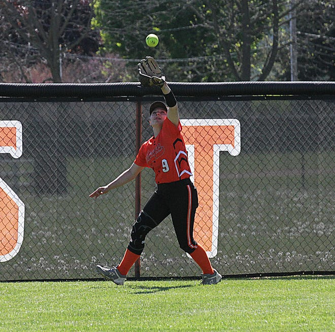 Aubrey Mealor of Sturgis was selected as First Team All-Conference for this past season. (Brandon Watson photos)