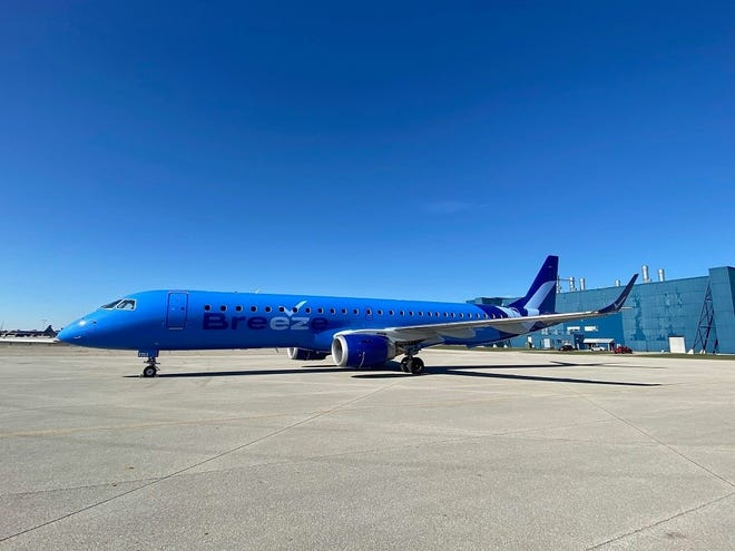 Breeze Airways, a new low-cost carrier, is expected to start flying in the next few weeks. Its first routes will be in the Southeastern U.S.