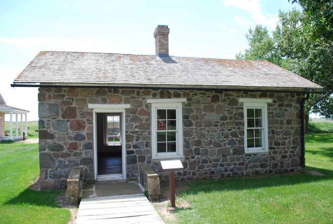 Fort Sisseton was awarded a $12,000 grant from the Deadwood Fund grant to assist with restoration of the Adjutant's Office.