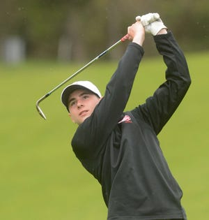 Norwich Free Academy's J. J. Hay earned co-medalist honors in the Wildcats win over Montville at Norwich Golf Course.