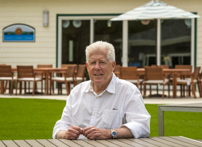 Philip Moreau owns Pine Lake RV Resort & Cottages in Sturbridge.
