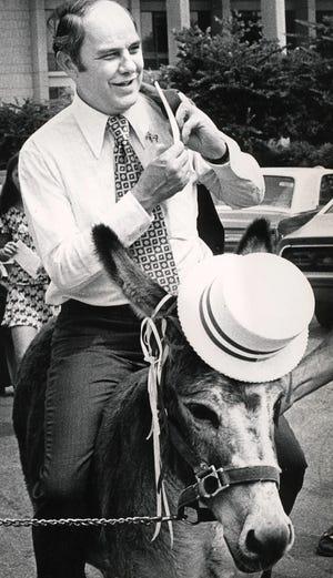 Ralph Turlington in Gainesville Fla. in 1973.
