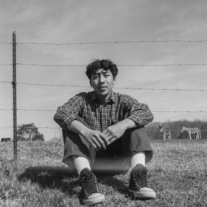 'Diego,' 120mm film photograph