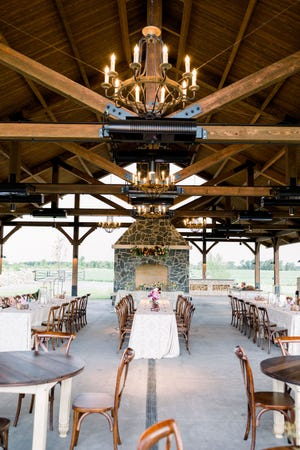 Stone Prairie, an open-air event venue, launched last summer in Brillion, Wis.