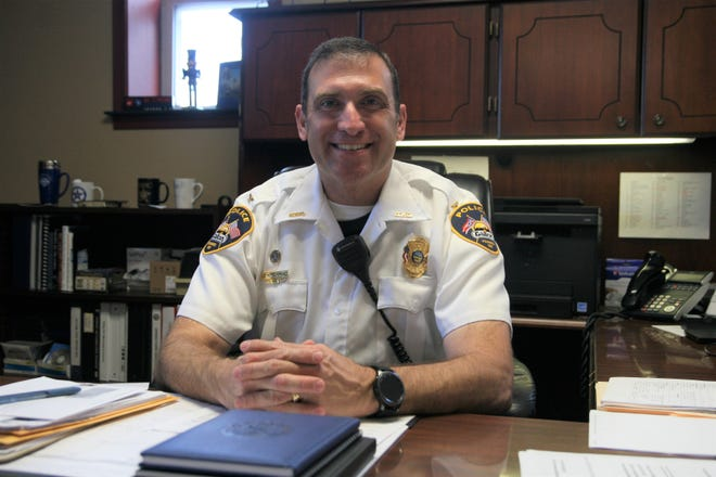 Galion Police Chief Marc Rodriguez had settled into his new office by the end of his first week on the new job.